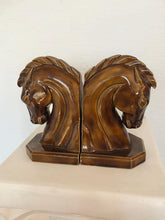 Load image into Gallery viewer, Mid-Century Horse Head Bookends