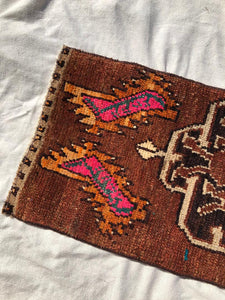 Vintage Turkish Accent Rug