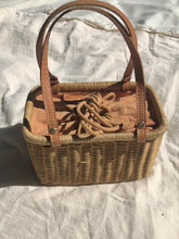 Load image into Gallery viewer, Wicker Basket Bag
