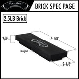 2.5 lbs Brick PlateMate Magnetic Microplate (Sold as individual bricks)