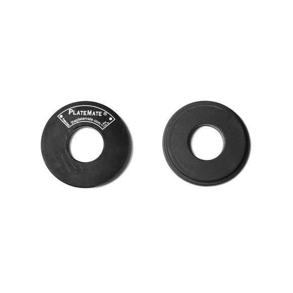 PlateMate Magnetic Add On Micro Plate For Micro Loading Fractional Plate 1.25 lb Donut (Pair)