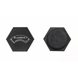 PlateMate Magnetic Add On Micro Plate For Micro Loading Fractional Plate 1.25 lb Hex (Pair)