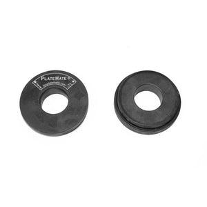 PlateMate Magnetic Add On Micro Plate For Micro Loading Fractional Plate 2.5 lbs Donut (Pair)