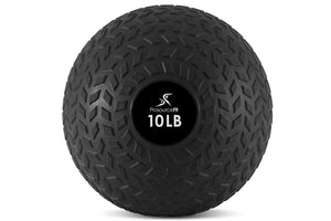 ProsourceFit Tread Slam Ball (10-50 lbs)