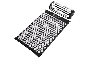 ProsourceFit Acupressure Mat and Pillow Set for Back/Neck Pain Relief