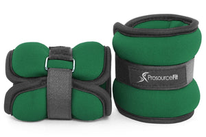 ProsourceFit Ankle Wrist Weights Set of 2, Adjustable Comfort Fit