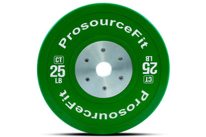 ProsourceFit Calibrated Colored Training Bumper Plates (Sold As Singles)