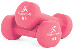 ProsourceFit Neoprene Dumbbells (1-12 lbs)