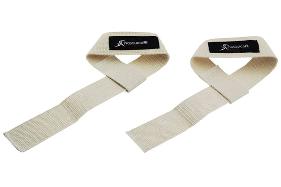Weight Lifting Straps 2 Colors Black / Beige