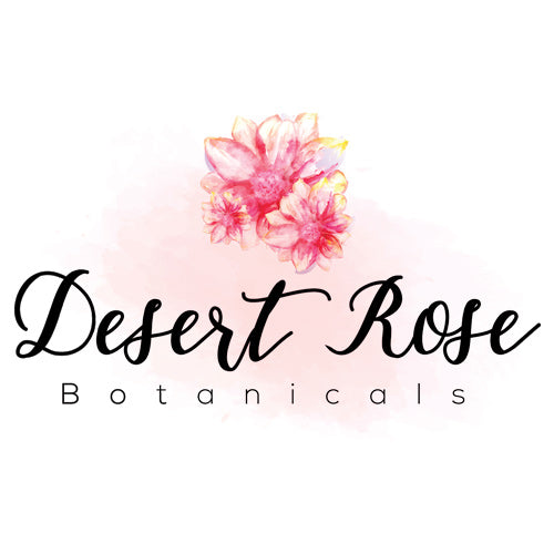 Desert Rose Botanicals Logo Design