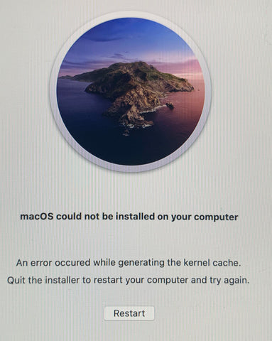 iMac Kernal Cache Issue