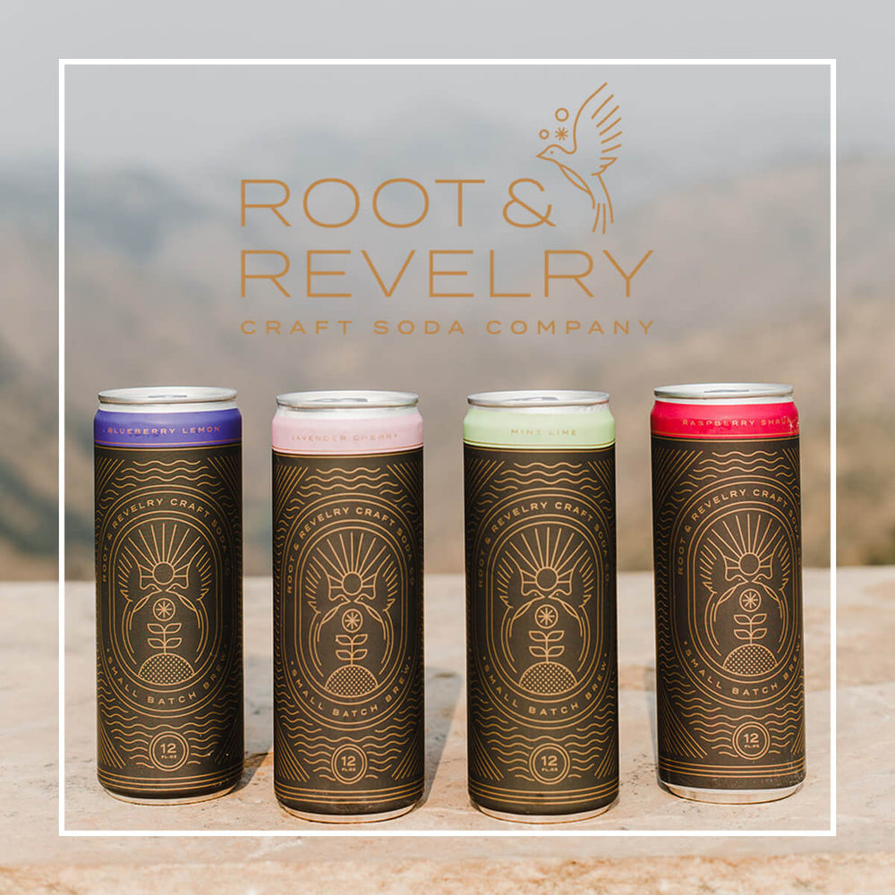 Root and Revelry Craft Soda