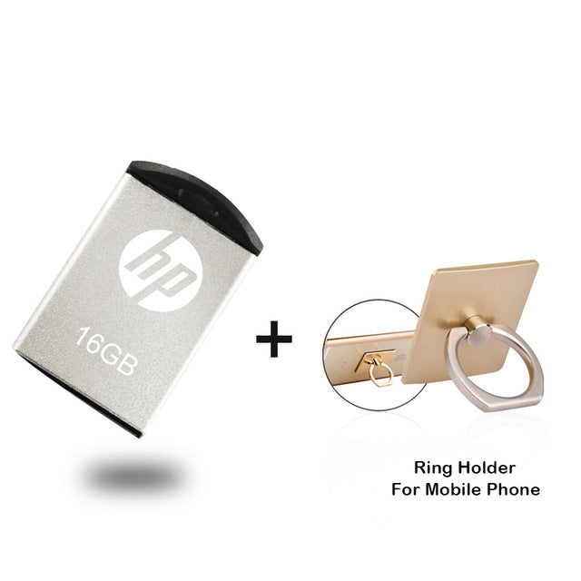 HP USB Flash Drive 16gb pendrive memory Stick Metal USB