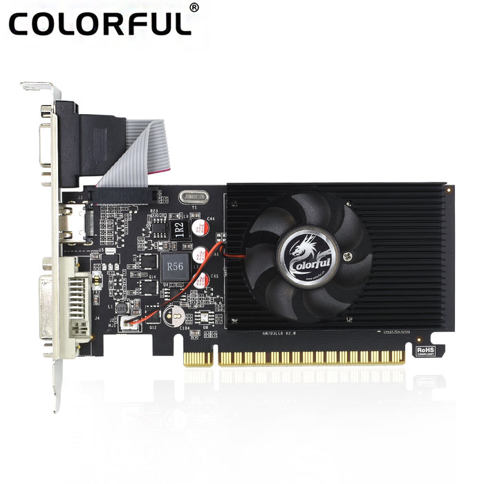Colorful Geforce GT710 2GB DDR3 64 Bit Graphics Video Card