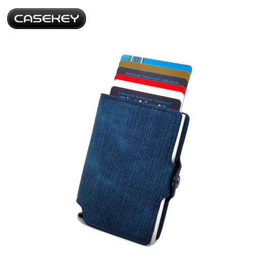 Credit Card Holder Wallet with RFID Blocking
