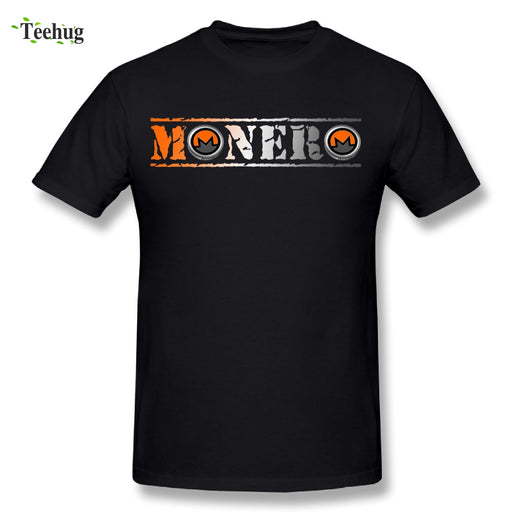 Novelty Boy Cryptocurrency Monero T Shirt