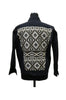 Black Aztec Denim Jacket