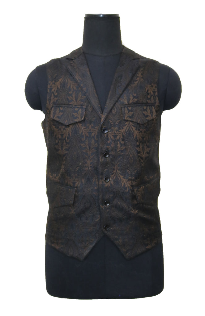 Black and Copper Vest