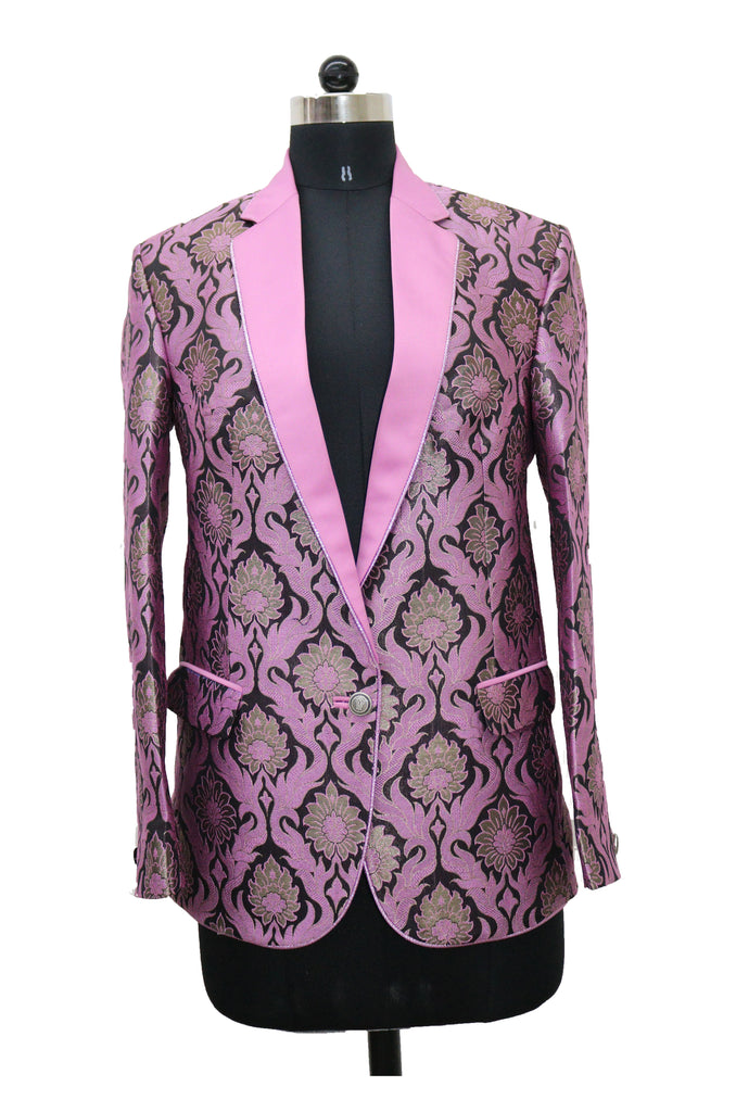 Ladies Pink Power Blazer
