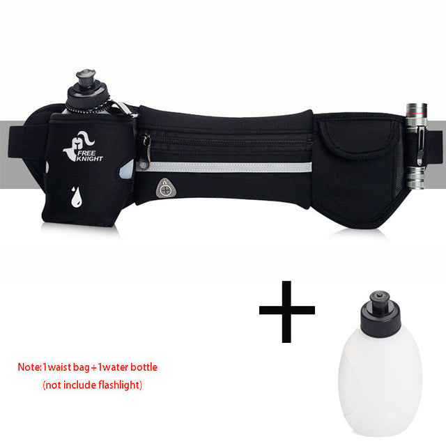 Sports Hydration Belt With Carry Pouch - OnlineBestBuys.com