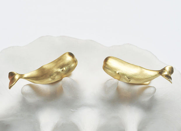 Magnificent Moby Cufflinks in 18kt Gold
