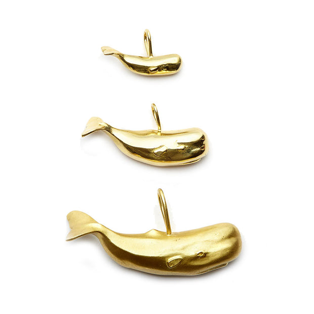 The Nantucket Whale Collection 18kt Gold Charms