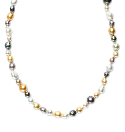 Multi-Color South Sea Pearl Necklace