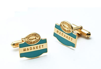 Nantucket Cufflinks from the Nantucket Sign Collection™ - 14kt Gold