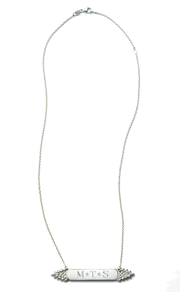 The Quarterboard Necklace™ in Sterling Silver