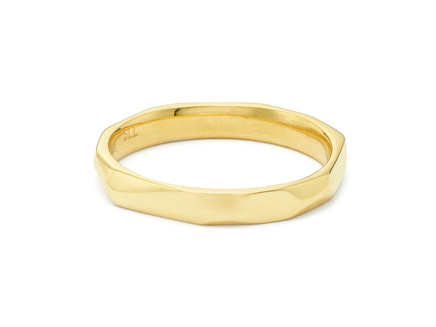 Ben's Band in 18kt Yellow Gold