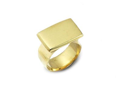 Darrell Signet Ring in 18kt Gold