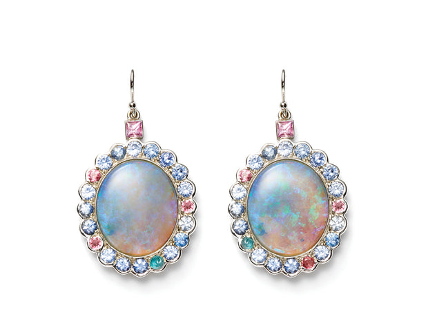 Opal Candy Drop Earrings