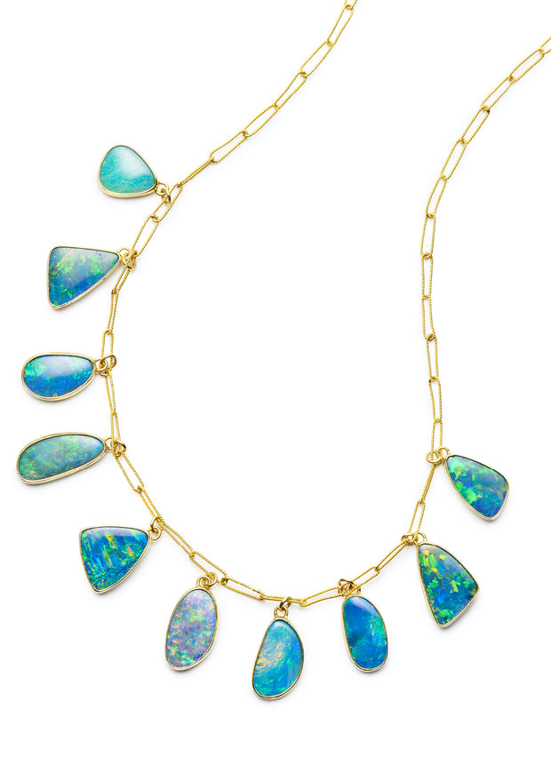 Opal Drop Necklace