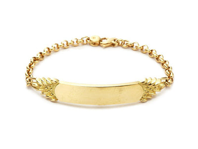 Quarterboard Bracelet™ in 18kt Yellow Gold