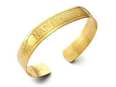 The Quarterboard Cuff™ in 18kt Yellow Gold