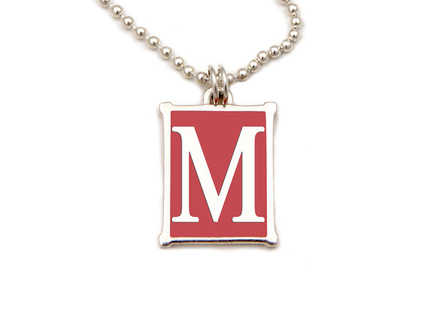 The Alphabet Collection™ Sterling Silver Charm - Nantucket Red