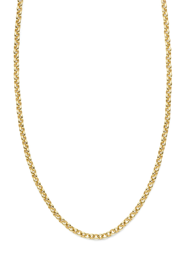 Rolo Chain in 18kt Gold