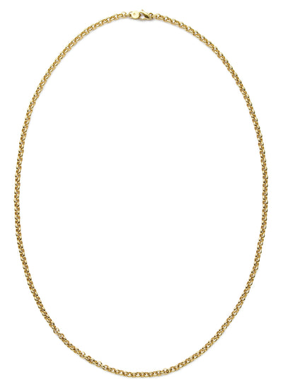 Rolo Chain in 14kt Gold