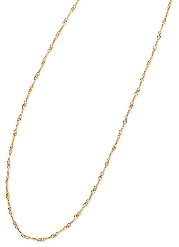 Twist Chain in 18kt Gold