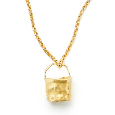 "Nantucket ""Anti-Basket"" Pendant - 18kt Gold"