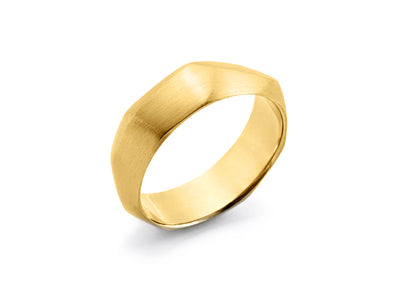 Boy's Band in 18kt Yellow Gold