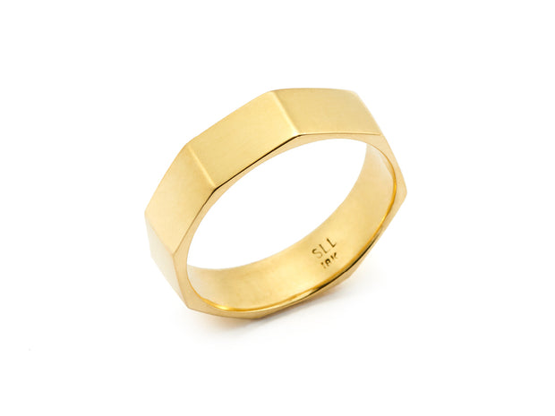 Millennium Band in 18kt Yellow Gold