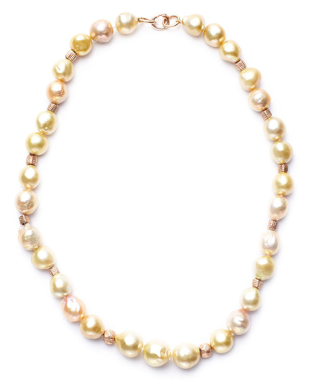 South Sea Baroque and Freshwater Pearl Necklace