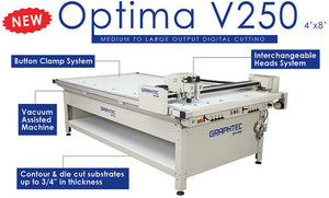 Graphtec Optima V250 Large Format Digital Cutter