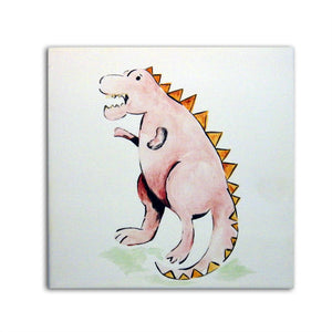 Dinosaur Art, Tyrannosaurus Rex Art, Boys Nursery Decor, Dinosaur Decor, Wall Art, Dinosaur Gift