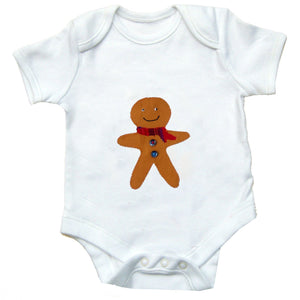 Christmas Baby Clothing, Gingerbread Man Bodysuit, Christmas Clothes, Christmas Baby Shirt