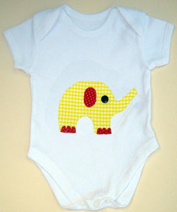 Elephant Baby Bodysuit, Baby Girl Clothing, Gift for Baby, Elephant Baby Shirt, Baby Girl Gift
