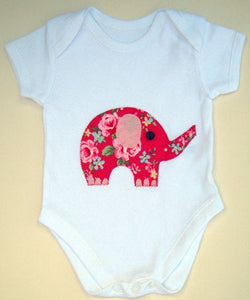 Elephant Baby Bodysuit, Baby Clothing, Baby Gift, Gift for Babies