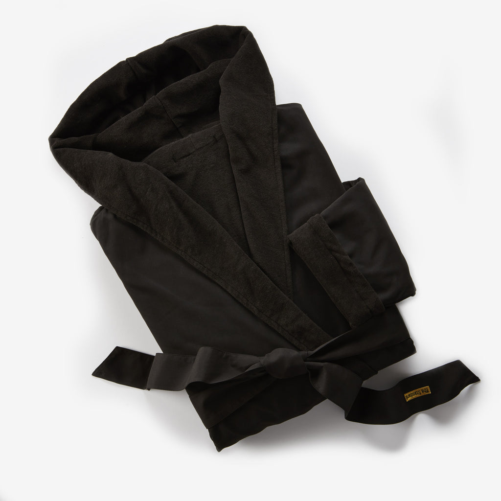 The Standard, High Line Black Hooded Robe