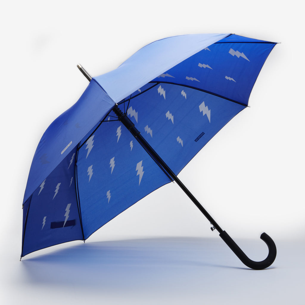 Standard Blue Bolt Umbrella